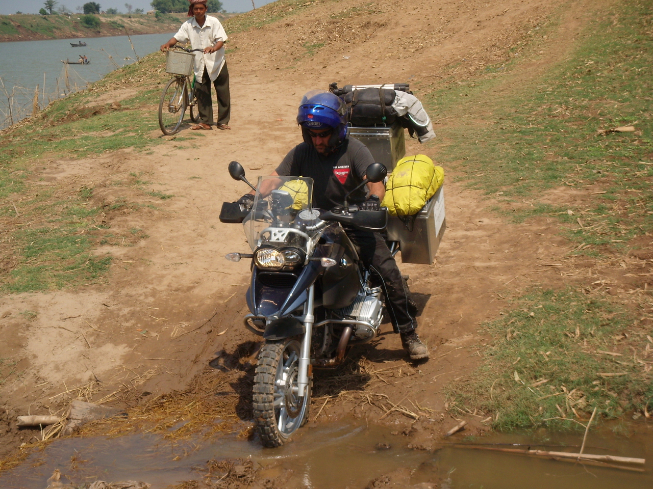 Motorcycling in Cambodia